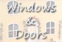 <!-- 030 -->Windows and Doors