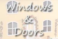 <!-- 030 -->Windows and Doors