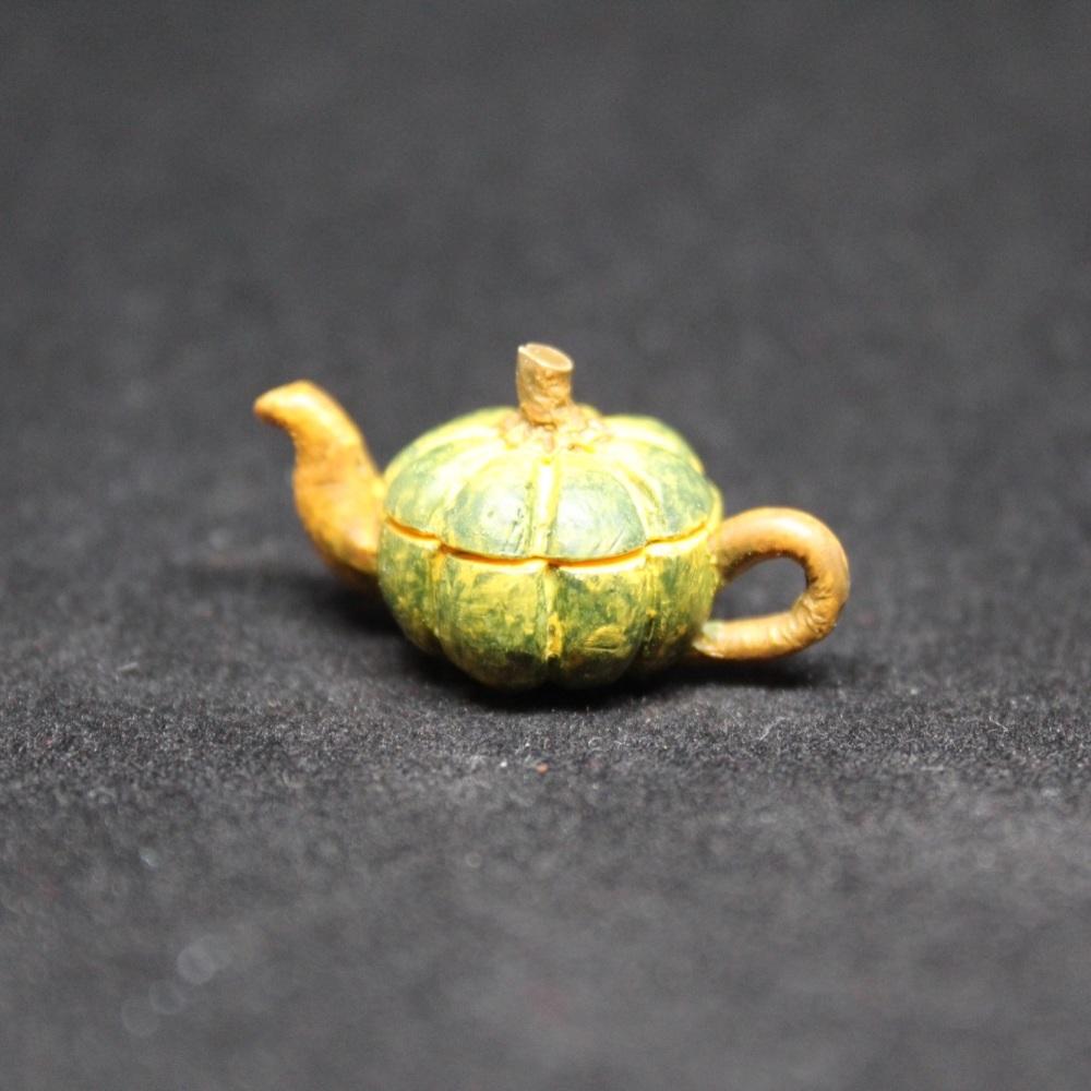 Vegetable Tea Pot - Pumpkin