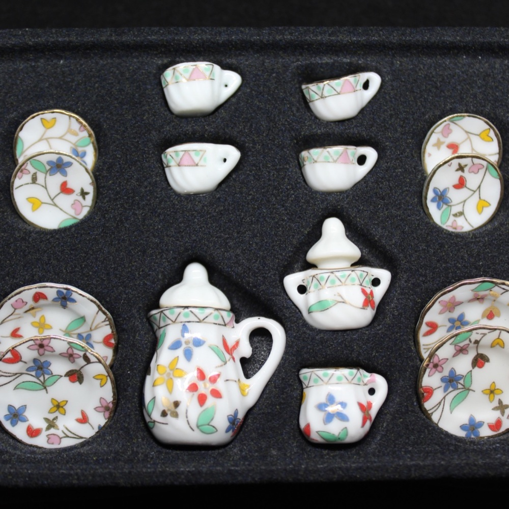Coffee Set - Bright Floral