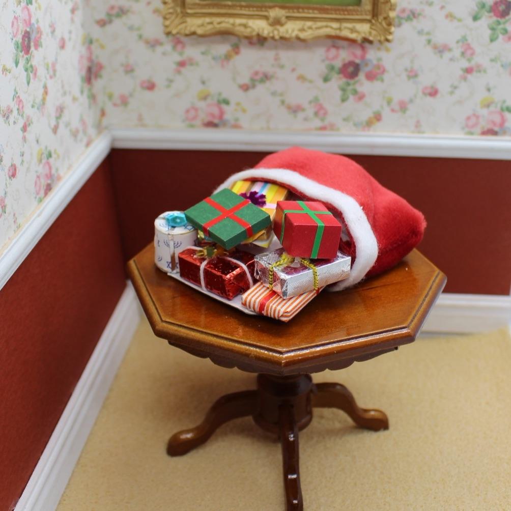 A Sack of Christmas Presents