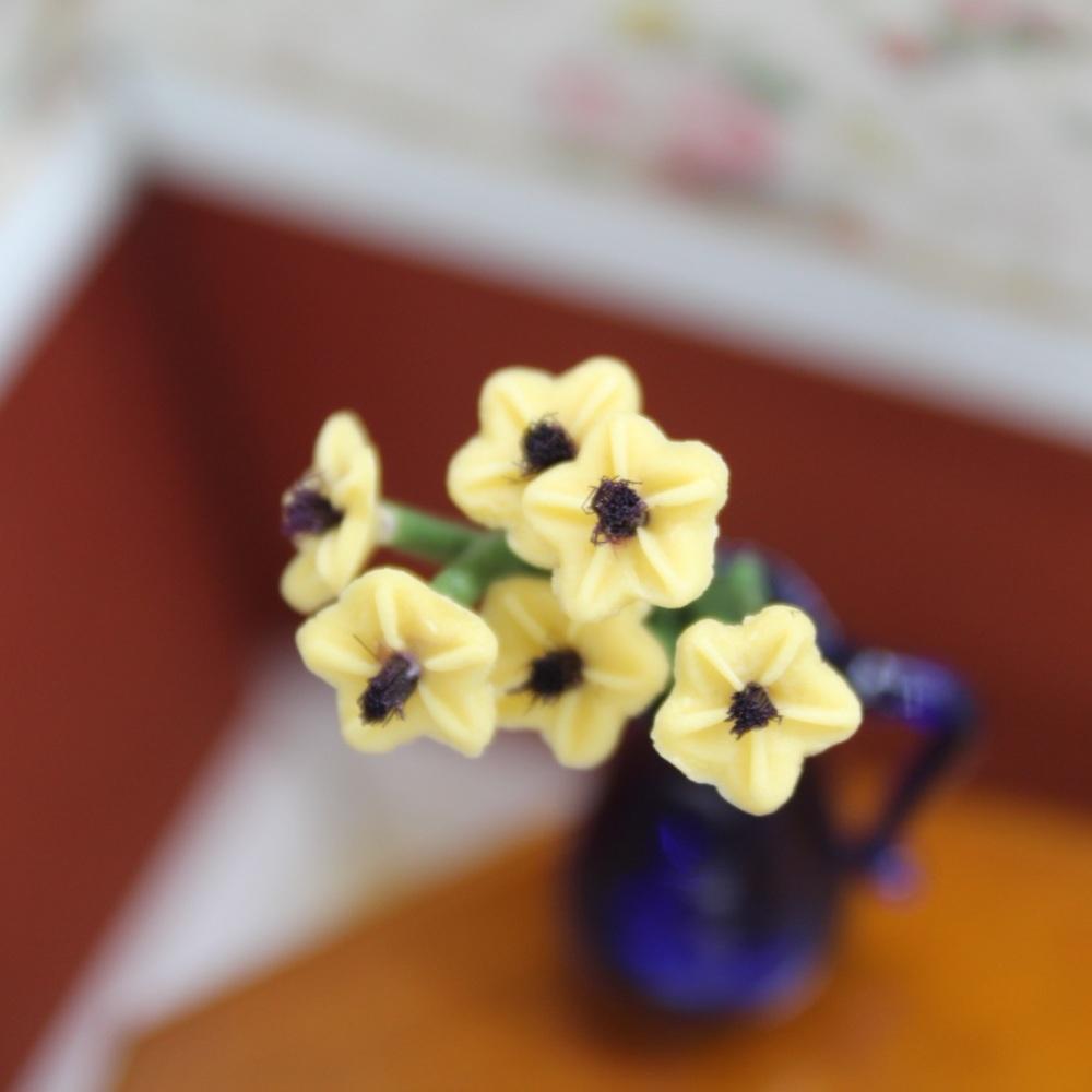 Yellow Flower Stems