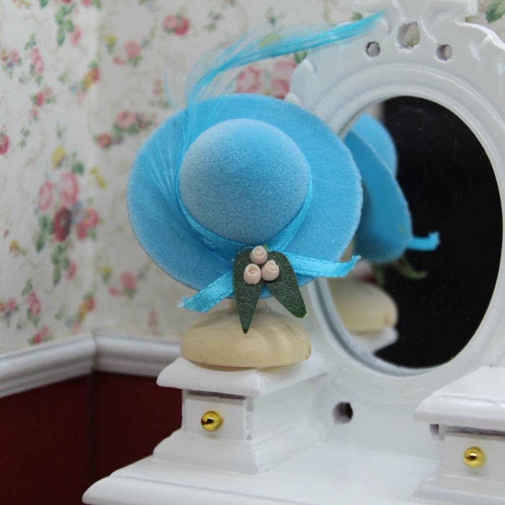 Blue Ladies Hat