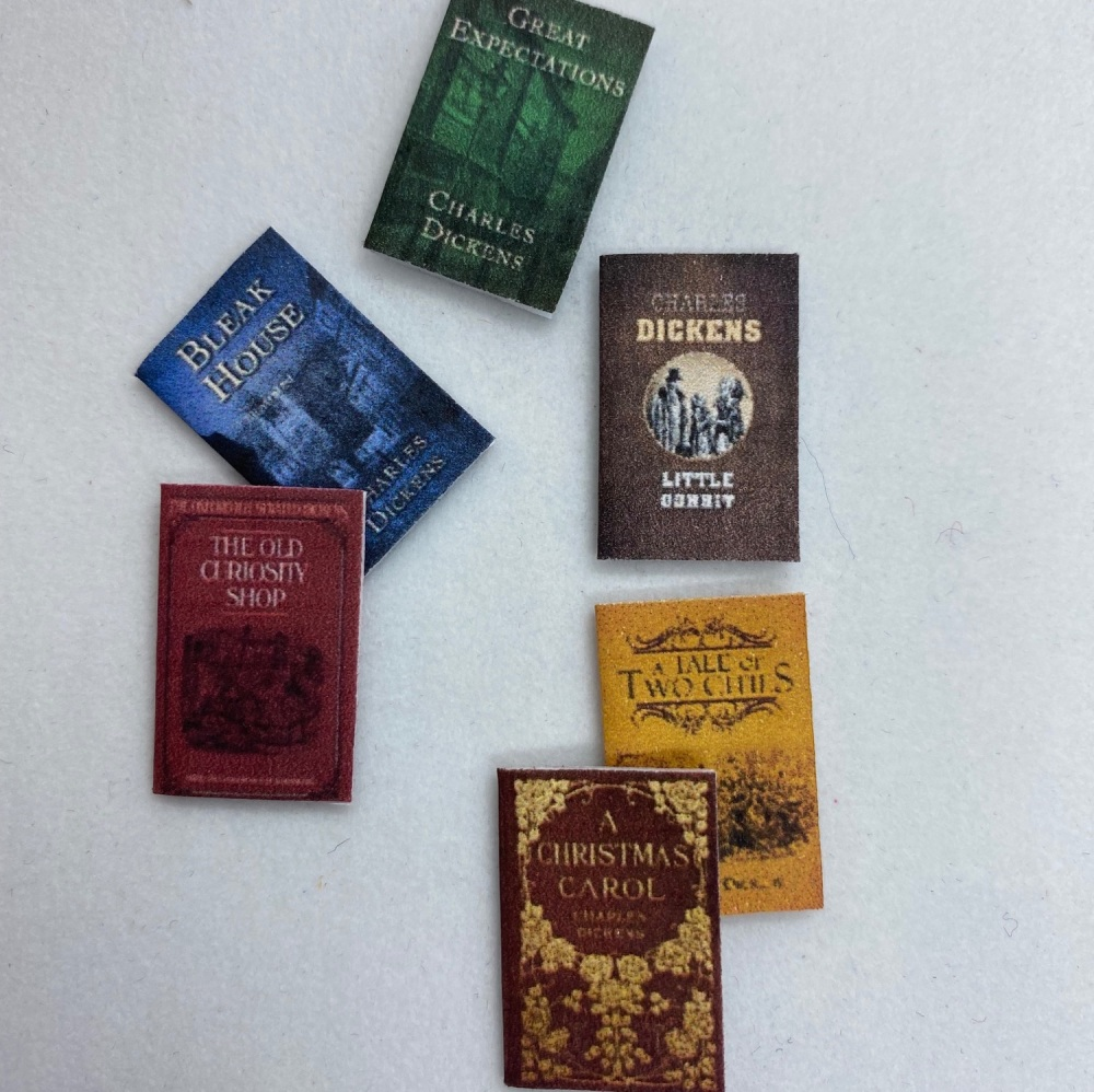 Books - Set of Charles Dickens 1