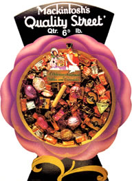 Advertising Sign - Quality Street