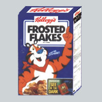 Frosted Flakes Cereal - 1954
