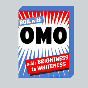 Omo Soap Powder - 1954