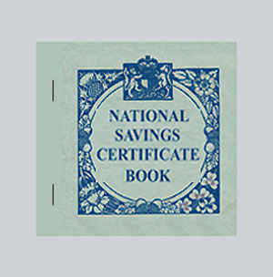 War Years - National Savings Book