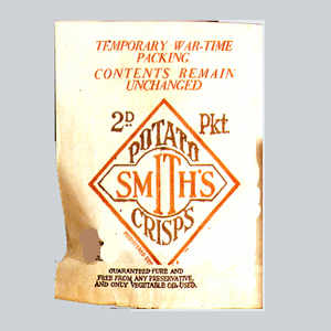 WAR YEARS - Smiths Crisps
