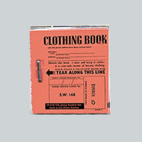 WAR YEARS - Clothing Ration Book