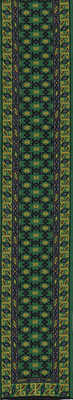 Turkish carpet - stair runner - Pattern E