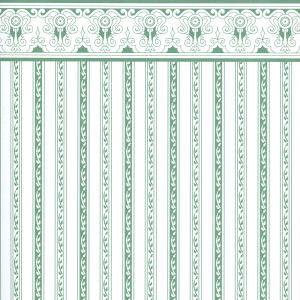 Wallpaper Regency  Green Stripe