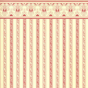 Wallpaper Regency  Burgundy stripe