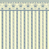 Wallpaper Regency - Blue stripe