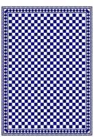 Gloss Card Small Check Flooring