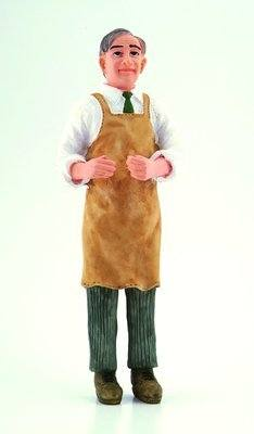 Man - Butler / Shopkeeper in apron