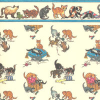 Wallpaper Playful Kittens