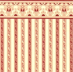 24th Scale Wallpaper Regency - Burgundy stripe