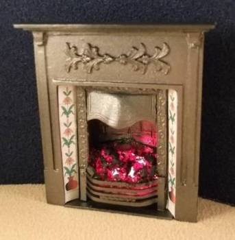 Victorian Bedroom Fireplace (grey)