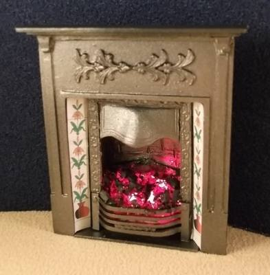 Victorian Bedroom Fireplace (grey)