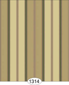Wallpaper - Broad Stripe - Beige