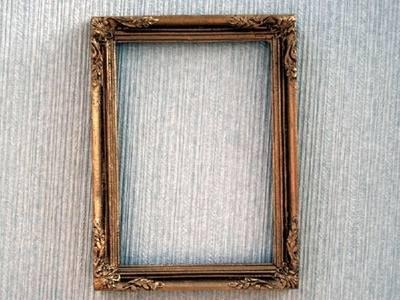 Frame - Antique - Metal
