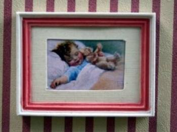 Picture - Pink Frame Baby