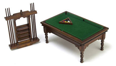Games Room - Billiard Table Set