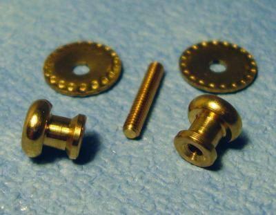Beaded doorknob set