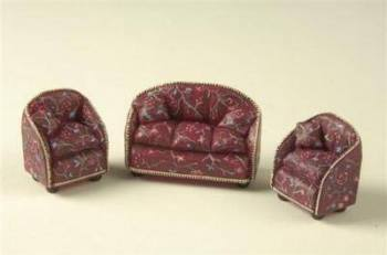 Sofa & Chair Set  - 1:24 24th Scale