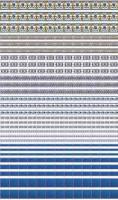 Laminated tile sheet - Blue