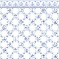 Dutch Tile Paper - Blue