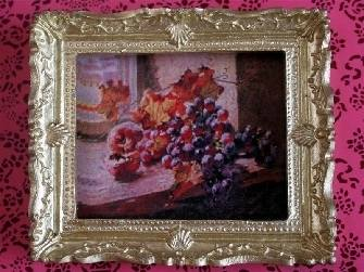 Picture - Still Life - Grapes