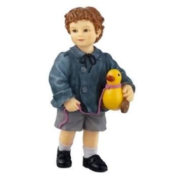 Child - Boy with duck