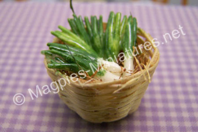 Basket of Leeks