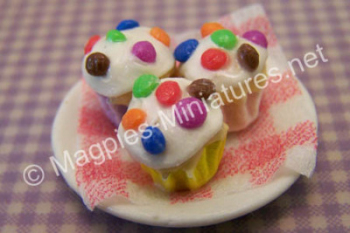 Smartie Cup cakes dishes