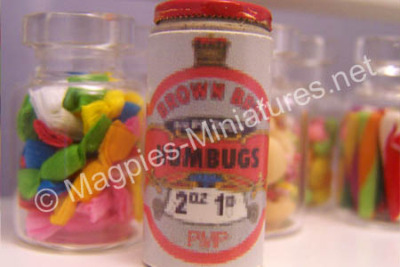 Brown's Humbug Tin - 5lb tin.