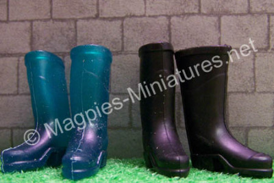 Wellington Boots, 2 Pairs wellies