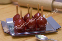 Tray of Toffee Apples