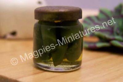 1lb Jar of Pickles