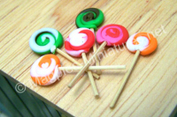 Lollipops, pack of 6