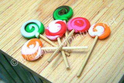 Lollipops, pack of 6