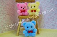 Teddy Bears Pack of 3