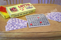 Lotto Board Game - 12th scale
