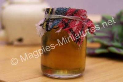 Glass Jar of Jam