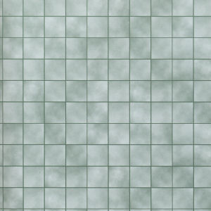 24th Scale Wallpaper Green Marble Tiles