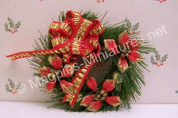Fancy Christmas door Wreath