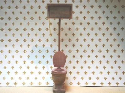 Wood Toilet - Barewood
