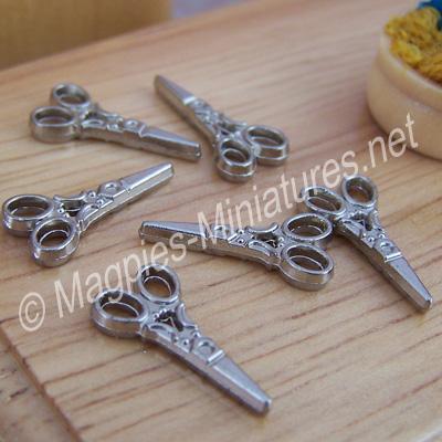 Pack of 6 Pairs Scissors