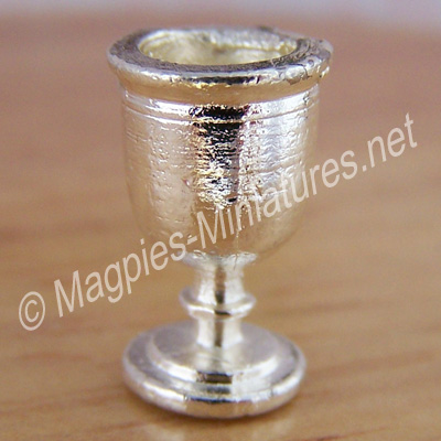 Silver Coloured Goblet